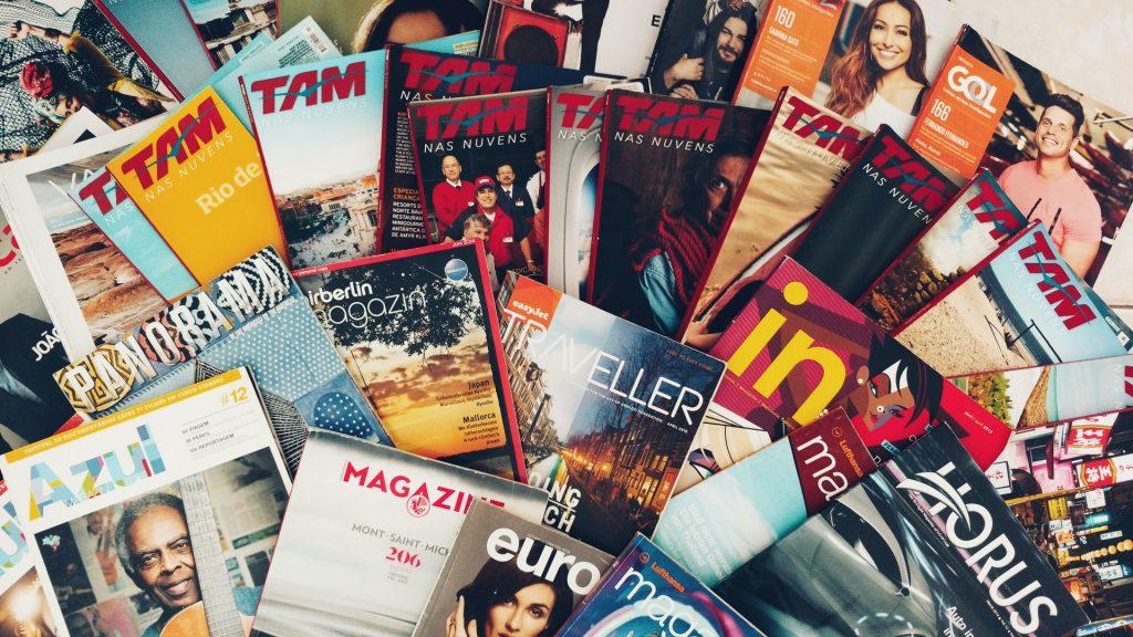 porque investir em revistas e catálogos