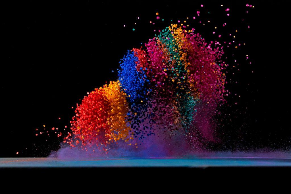 imagem para ilustrar a psicologia das cores