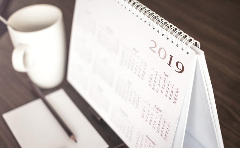 calendário brindes personalizados