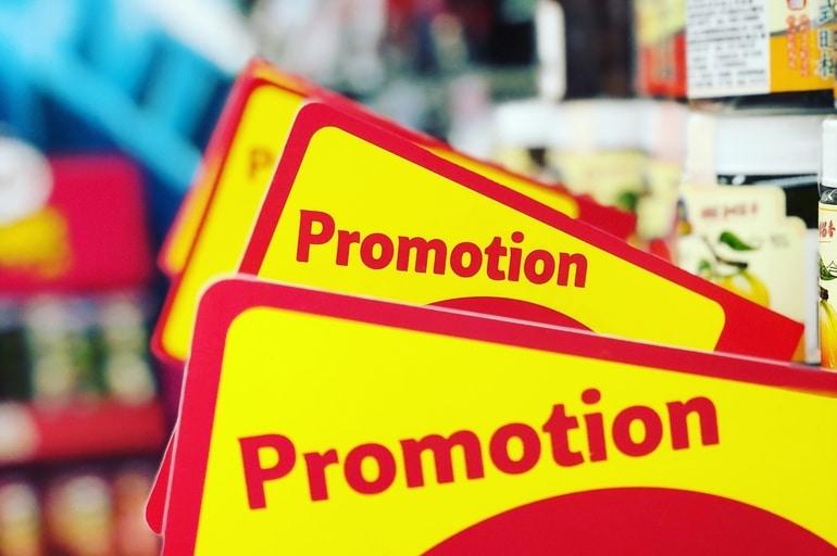 sinalize sua loja monte sua promoção