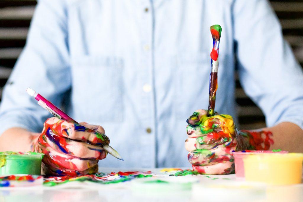exercitar a criatividade