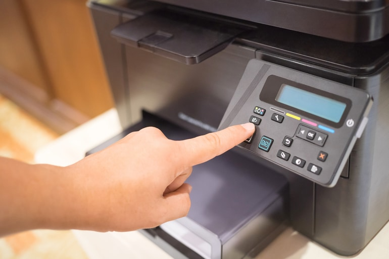 como funciona impressão digital