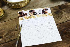 foto de como fazer calendários