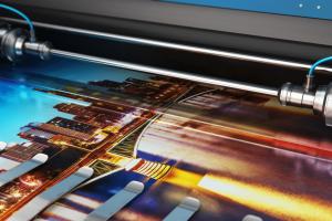 impressora de impressão digital